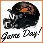 Game Day with Bearcats helmet
